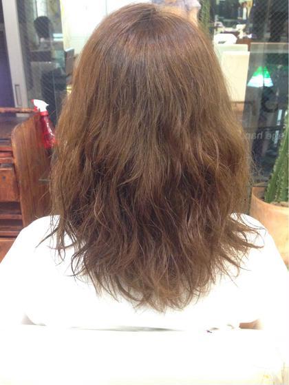 黒染めからのトーンアップ。 #ベージュブラウン hair frais make所属・梅宮那月のスタイル