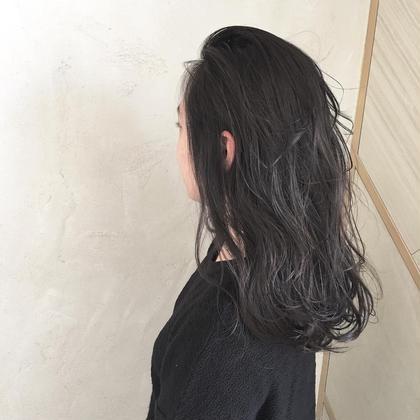 ミディアム 暗髪!!  最近オーダーが多いです♡ 黒染めは使ってません!  詳しくはmoeriまで!!