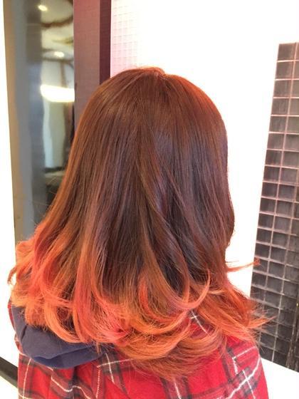 ローズピンク!やっぱり春はピンクですね nambuCENTRAL所属・鷲尾幸のスタイル