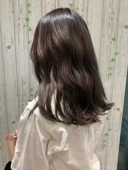 💎【3回目以降】 ツヤ髪💕透明感カラー&トリートメント🍀