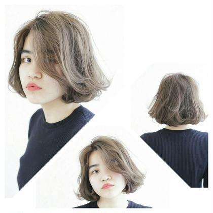 透け感&ボブ。女子の鉄板ネタですね~ takk所属・takkdesignlabのスタイル
