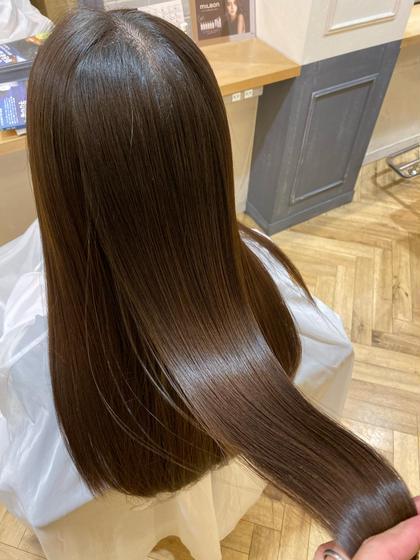 ❄️髪質改善❄️イルミナカラー+サイエンスアクア+毛先カット