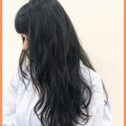 【就活生必見】黒染めorブルーブラックカラー(minimo限定トリートメント付き)