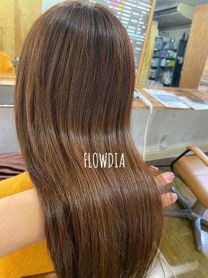 ✨今までにない感動質感✨ダイナプレックス髪質改善✨カット+カラー+髪質改善ダイナプレックス+FLOWDIAトリートメント