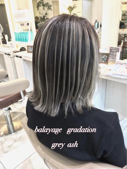 【オーダー2位🥈バレイヤージュカラー✖️髪質改善】カット+髪質改善+バレイヤージュカラー