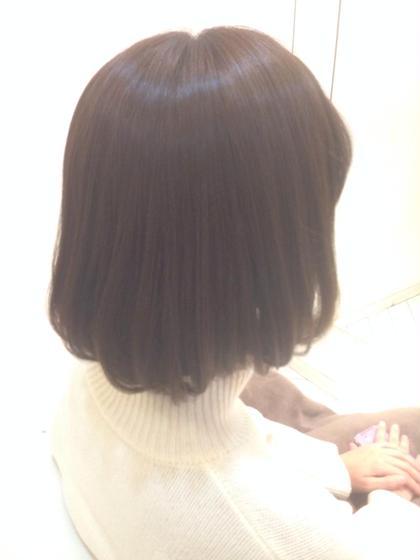 毛先を柔らかく仕上げたストレートパーマです。 hair make MUSE自由が丘店所属・野出貴弘のスタイル