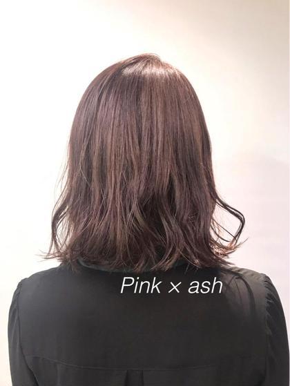 その他 カラー ミディアム ピンク系の明るさはブリーチするとさらにかわいい色になります❤︎