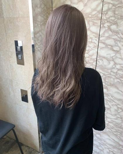 🌈【綺麗にメンテナンス❣️】前髪カット+ イルミナカラー+TOKIOトリートメント🌟