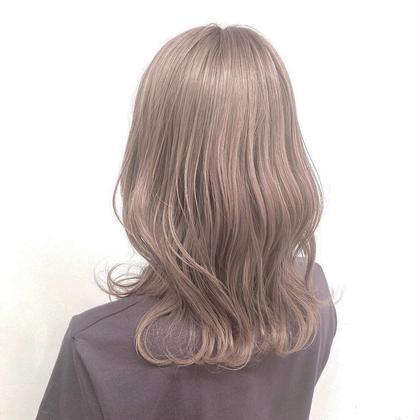 【🔥新規限定様価格🔥】 ケアブリーチ+透明感ラテカラー+大人気髪質改善トリートメント