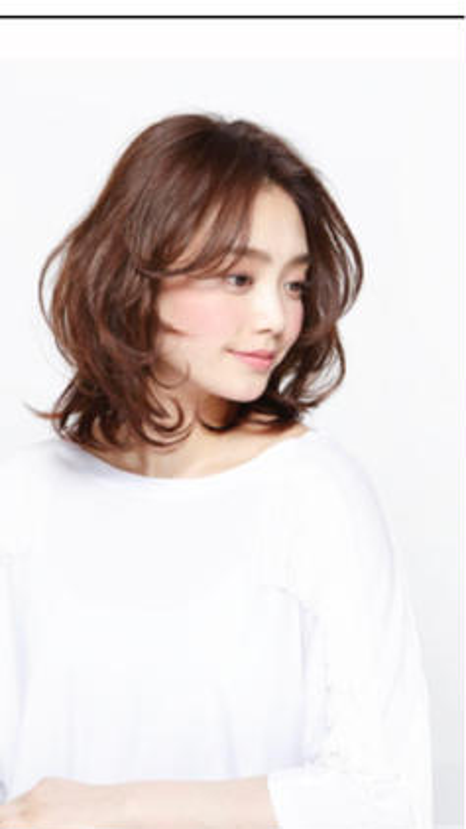 U hair     野並店所属・高柳歩実のスタイル