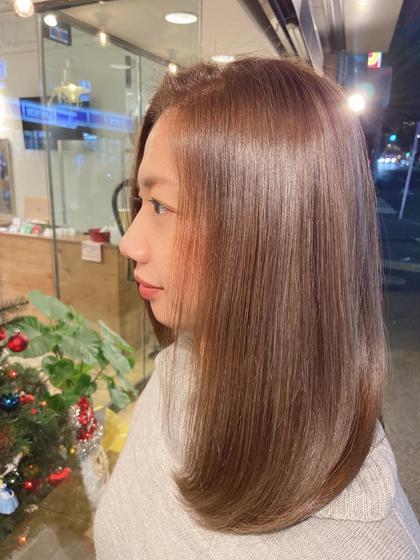 🤍🧸ミニモ限定🧸🤍艶髪カラー(ロング¥500~1000)トリートメント付