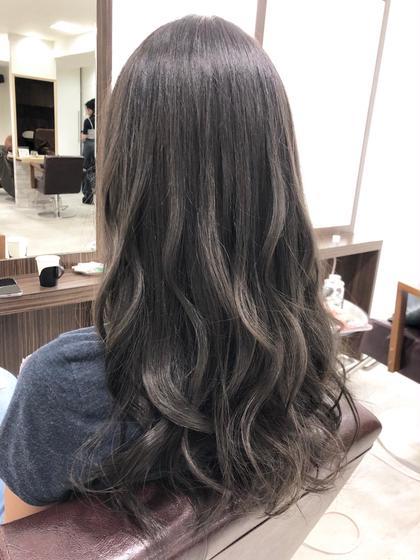 前髪カット+カラー+うるツヤトリートメント