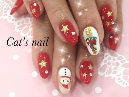 #クリスマス #ツリー #雪だるま Cat's nail所属・原口芹香のフォト