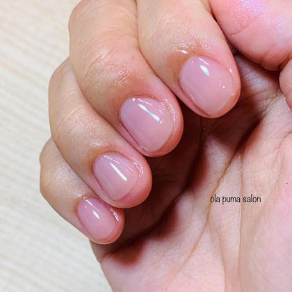 ✨ミニモ限定✨ mao nail ちゅるちゅるワンカラー ネイルケア付 他店オフなし