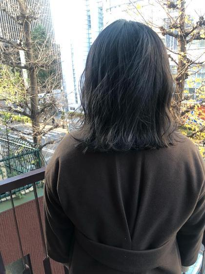【春キャン学割U24】🍃前髪カット+透明感カラー🍃