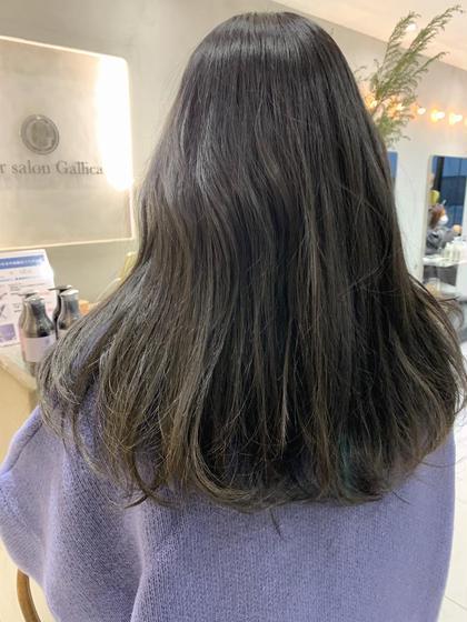💡特別価格💡朝9時、夜20時以降扱いやすさ◎カット+透明感カラー+髪質改善トリートメント 長さはロングのみです‼️