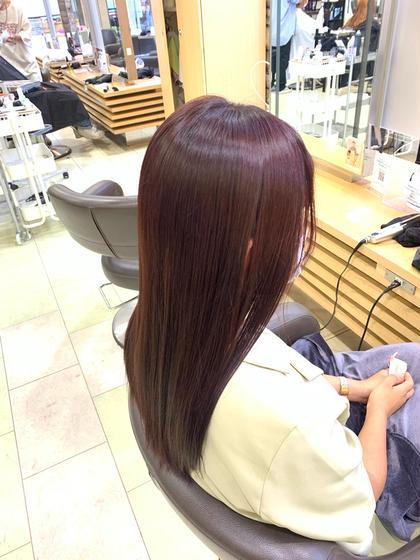 人気No.2🔥[ 今月限定🌻]髪質改善トリートメント+カラー