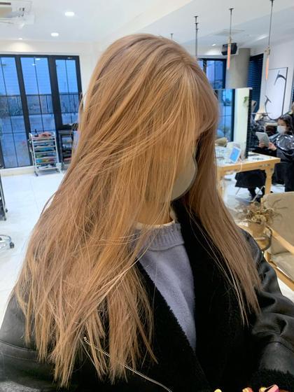 【土日祝日限定】ケアブリーチ➕カラー➕髪質改善シャンプー➕トリートメント