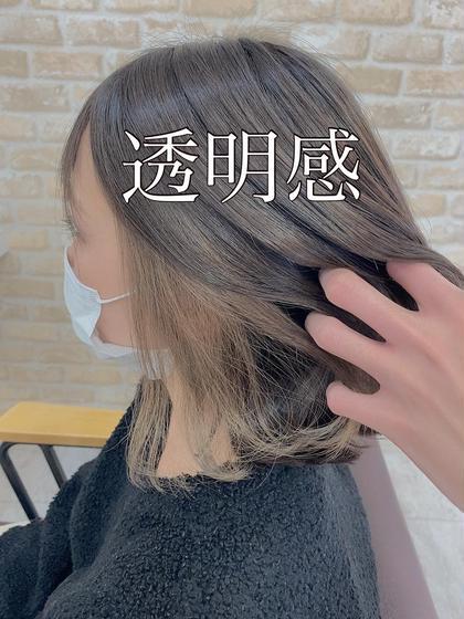 👑オーダー殺到👑【インスタ映え🌈】カット&カラー&インナーカラー