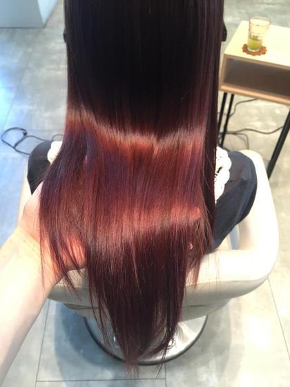 その他 カラー セミロング ミディアム ロング 艶髪❤︎