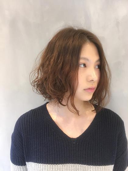 デジタルパーマ ✨Hair & Make EARTH 目黒✨所属・✂️足達剛久✂️のスタイル
