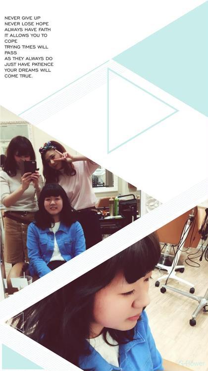 遠くの大学に行っちゃう前のファーストカラー☆☆  hair&make chouchou所属・米澤澄絵のスタイル