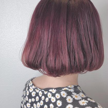 deep violet 🌼  ブリーチ1回必須です◎