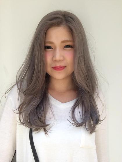 透明感バツグン! silver Grey✔️ Hair Clap所属・あびる翔太のスタイル