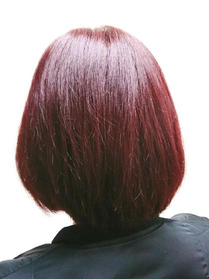 バイオレットピンク ブリーチなし! Hair Salon Valor 所属・渡辺康行のスタイル