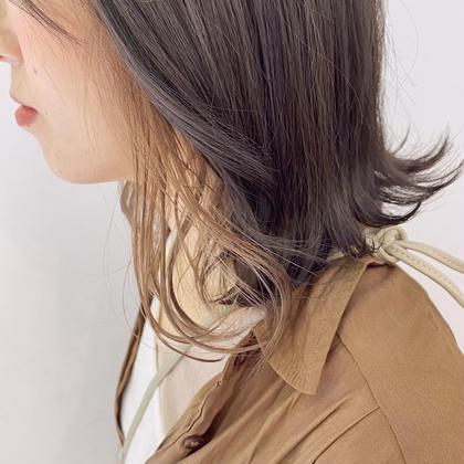 🌟ちょびっと個性🌟インナーカラー+全体カラー+髪質改善プチオージュア