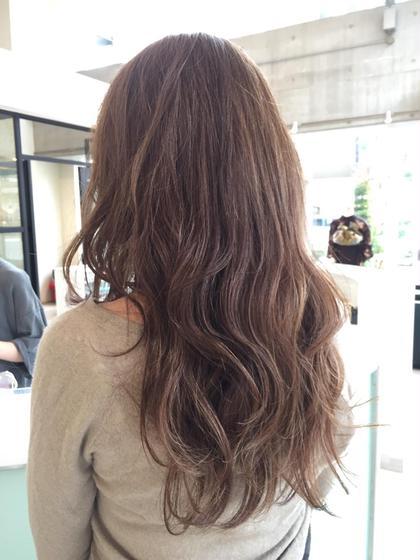 美フォルムカット➕艶髪カラー
