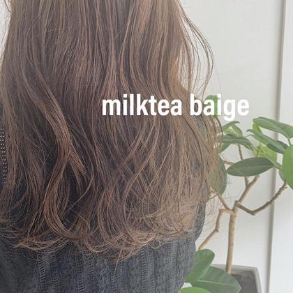 【平日限定⭐️】前髪カット➕透明感カラー➕集中補修トリートメント ✨ 【ツヤツヤ 🌿】