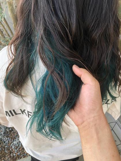 《inner color》カット+カラー+インナーカラー+treatment