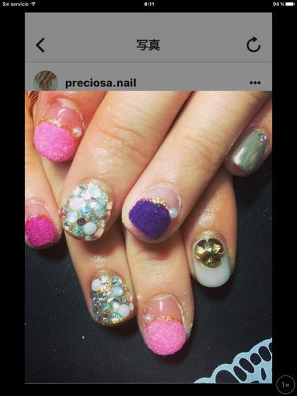 ベルベットネイル ミラーネイル  いつでも同じ価格♪ preciosa.nail所属・preciosa.nailのフォト