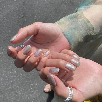 【hand】シンプルネイル✨ワンカラーなどシンプルなネイル☺️2色まで選べます!✨オフ1本110円