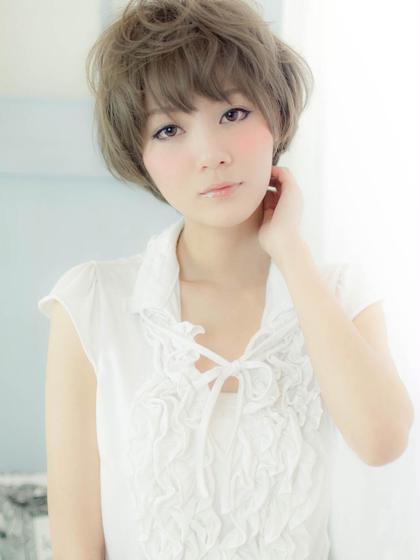 かわいいふんわりショートです☆ epice plus所属・細間清士郎のスタイル