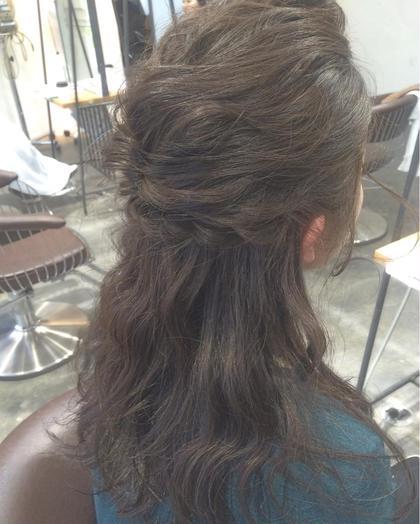 ヘアアレンジもいっぱいしてます♡ hair  make beautiful所属・_yayoiのスタイル