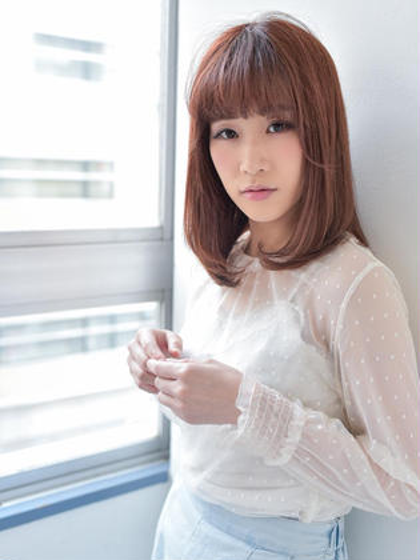 【オススメ・自然な仕上がり】カット+コスメ縮毛矯正+薬剤除去¥6500