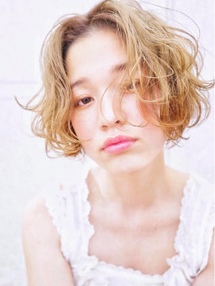 【minimo限定クーポン❤️】カット & うる艶パーマ