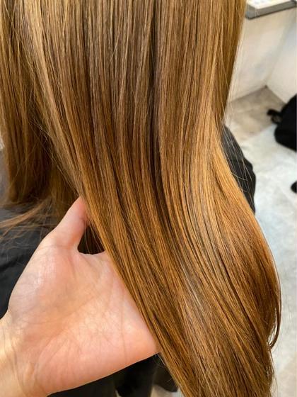 【話題の髪質改善縮毛矯正 超お得クーポン✨】似合わせカット+SINKA縮毛矯正+TOKIOトリートメント+プチマッサージ