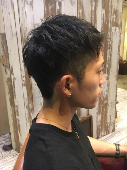 坪田彩花のメンズヘアスタイル・髪型