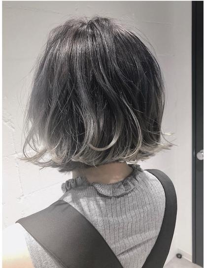 [新規]黒髪卒業✨外国人風透明感✨Wカラー!トリートメント付き♪アッシュ、グレージュなどハイトーンカラー🌈