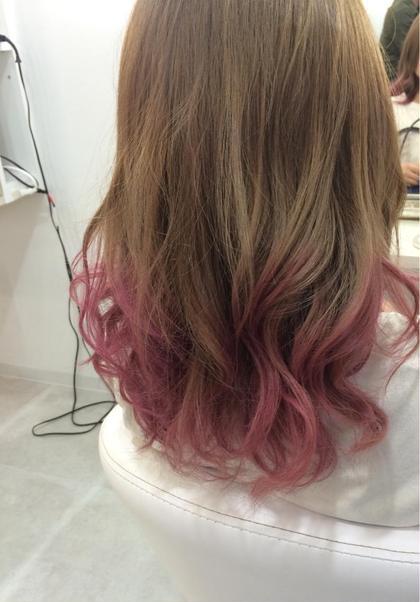 グラデーションカラー + カラーバター ELMO -hair salon-所属・中川翔のスタイル