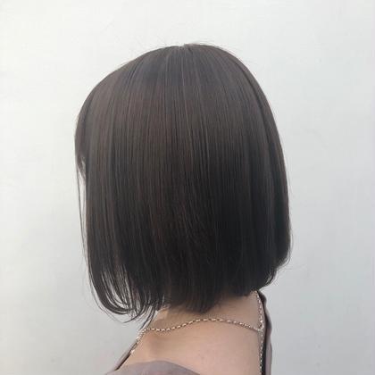 ☁️bob cut🌙☁️ (shampoo+treatment+blow)