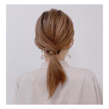 🥂🍴前髪カット+カジュアルセット【結婚式や二次会などのヘアセットには使用出来ません】
