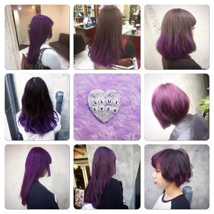 ラベンダーカラー♡ シェリー原宿所属・フリーランス美容師masatoのスタイル