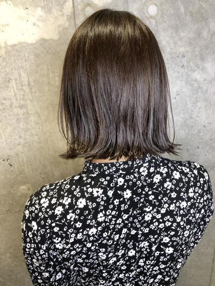 人気No.2❣️カット & 透明感カラー&3stepトリートメント