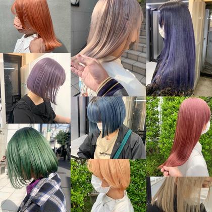 ✨理想の髪色に、初めてブリーチする方もお任せください✨ブリーチ×カラー×トリートメント