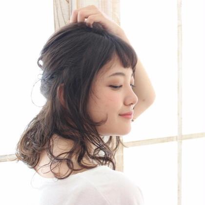 お呼ばれ簡単アレンジ。 後れ毛を大切に・・・・ johnnyMEN高田馬場店所属・安藤隆介のスタイル