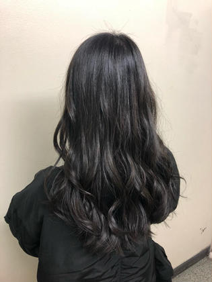 和田龍磨のロングのヘアスタイル